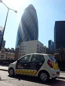 Gherkin Southwark Bridge Mobile security patrols