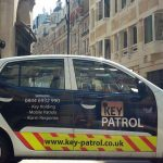 Key-patrol-side-on-city